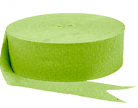 Kiwi Green Streamers - 4PC-0