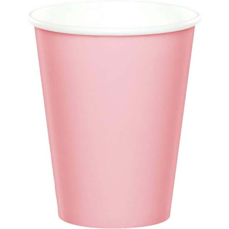 Flamingo Pink Paper Cups 270ML - 24PC-56158B