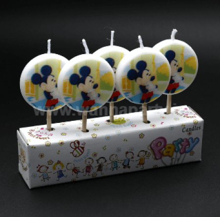 Mickey Mouse Candles - 5PC-0