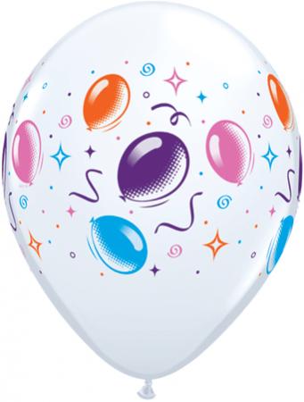 "Balloons & Streamers Latex Balloons 11"" - 10PC-0"